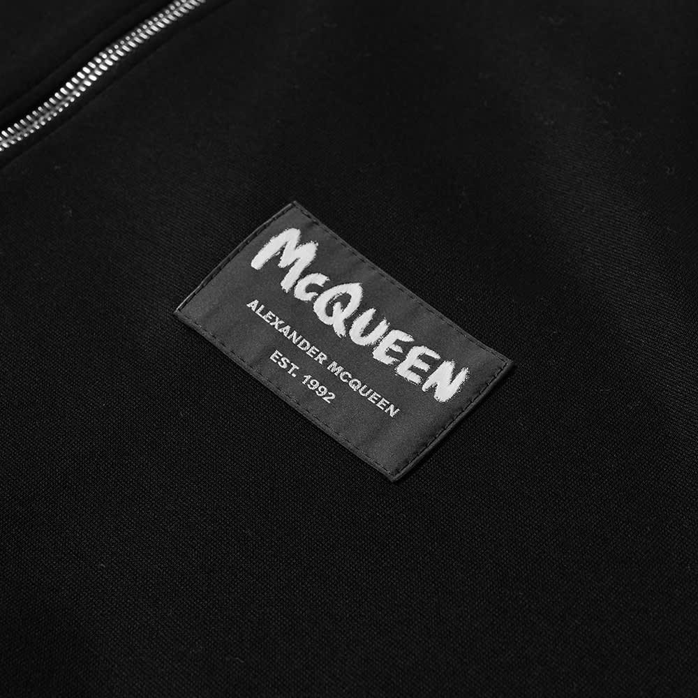 Alexander McQueen Graffiti Logo Track Jacket - Black & Navy