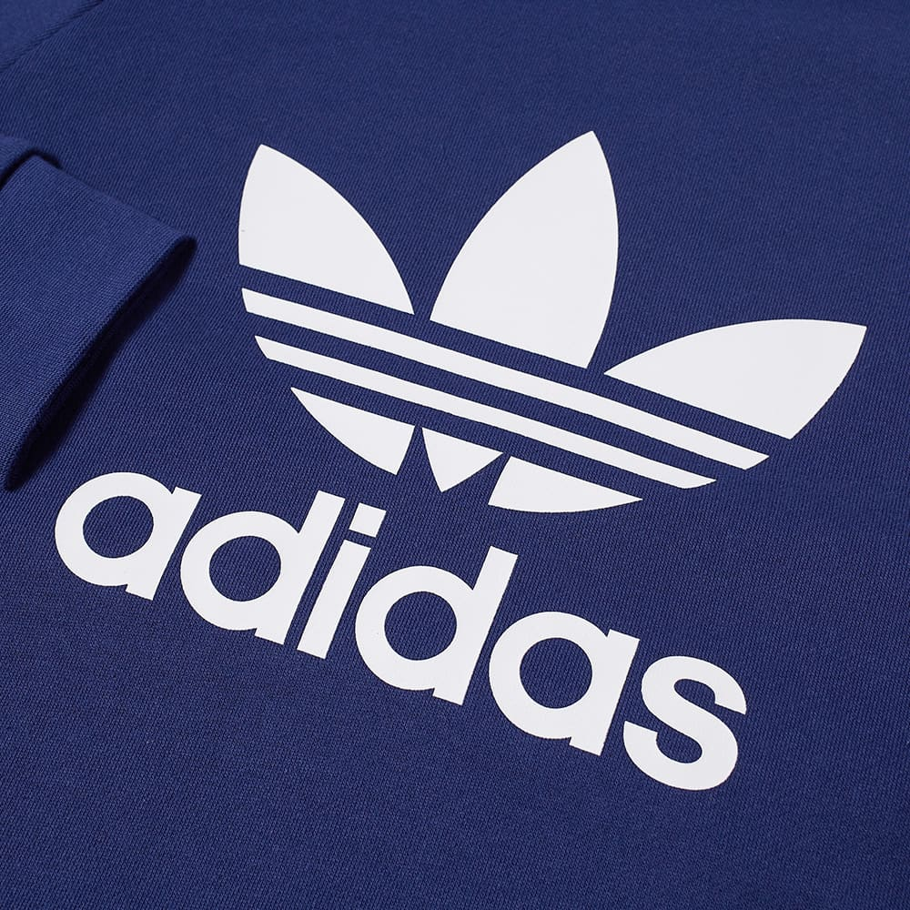 Adidas Trefoil Crew Sweat - Night Sky & White