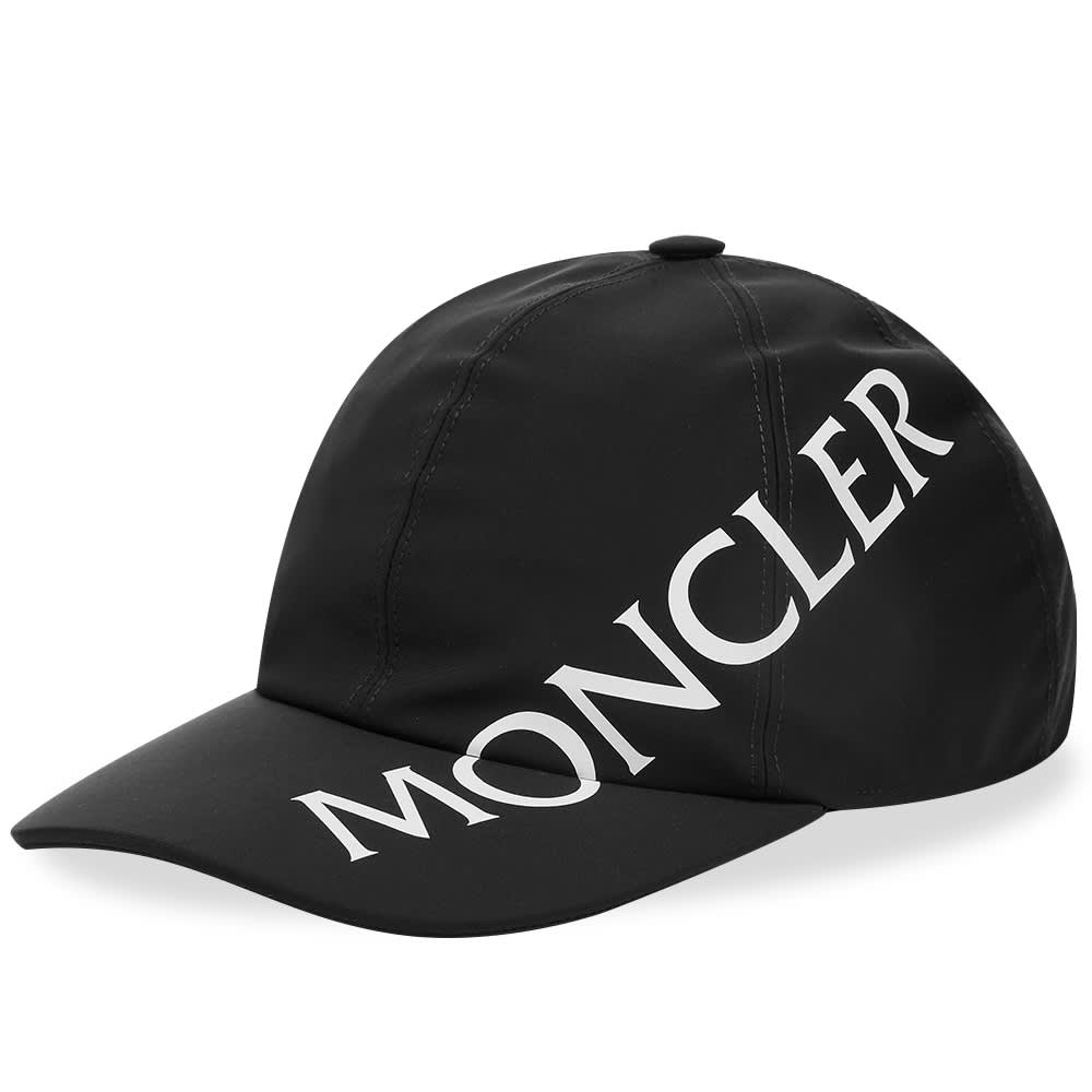 Moncler Side Logo Baseball Cap - Black