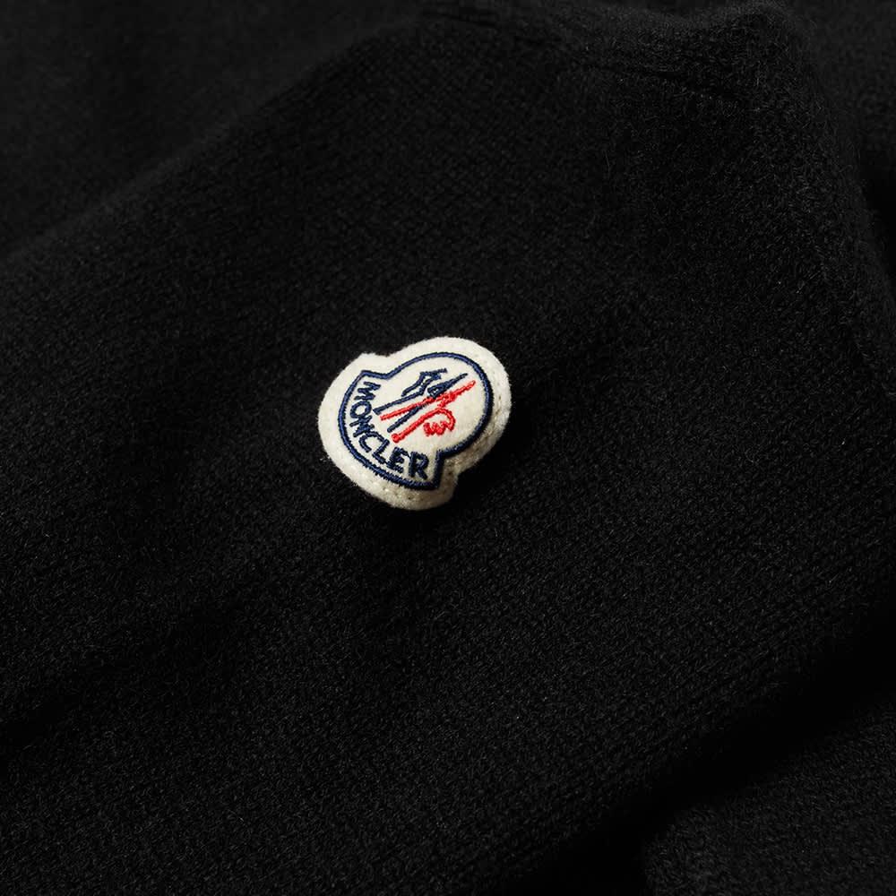 Moncler Logo Crew Knit - Black