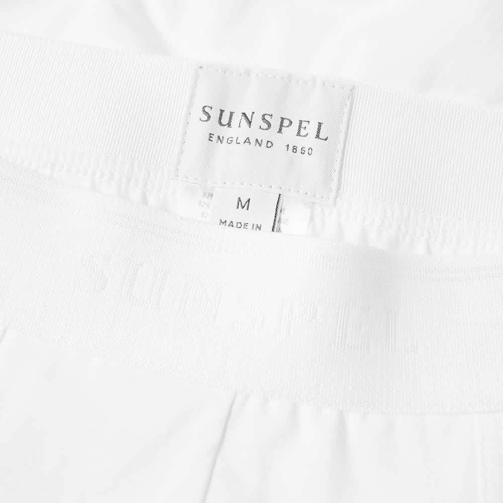Sunspel Cotton Stretch Trunk - White