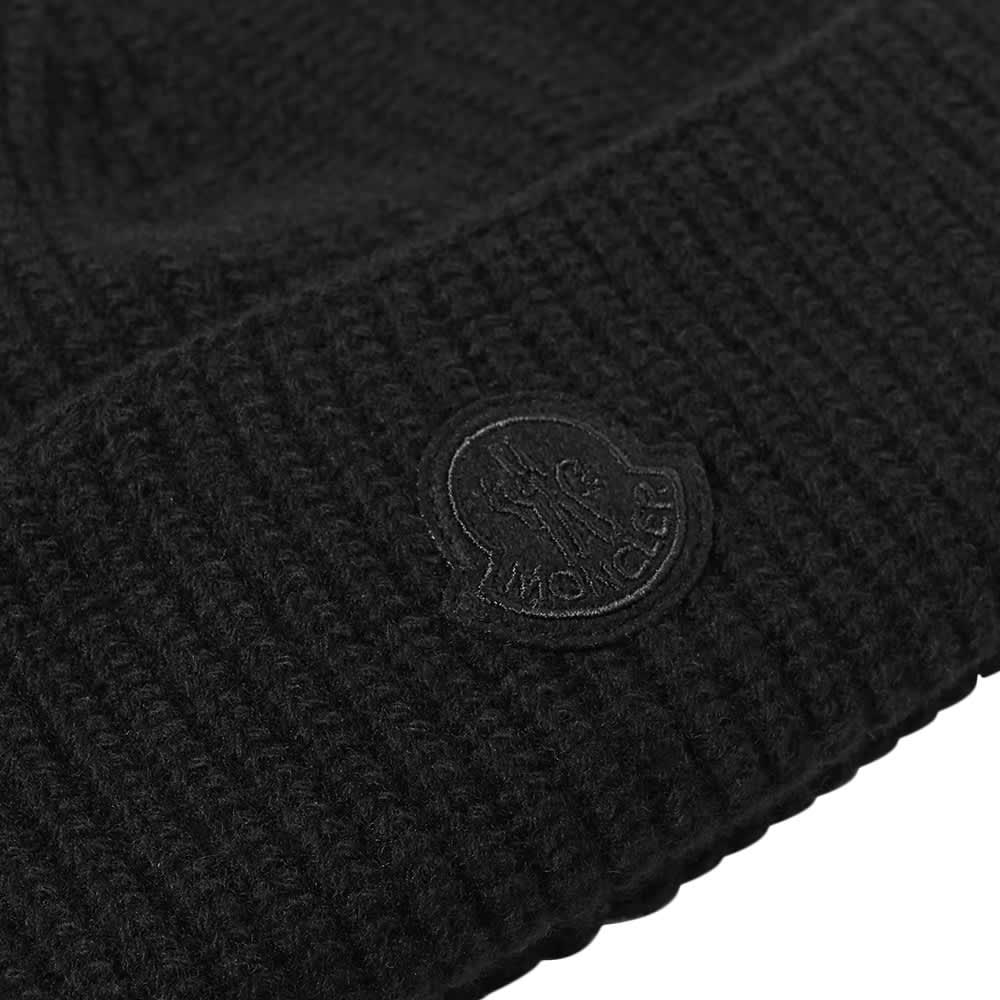 Moncler Genius Logo Beanie Hat - Black