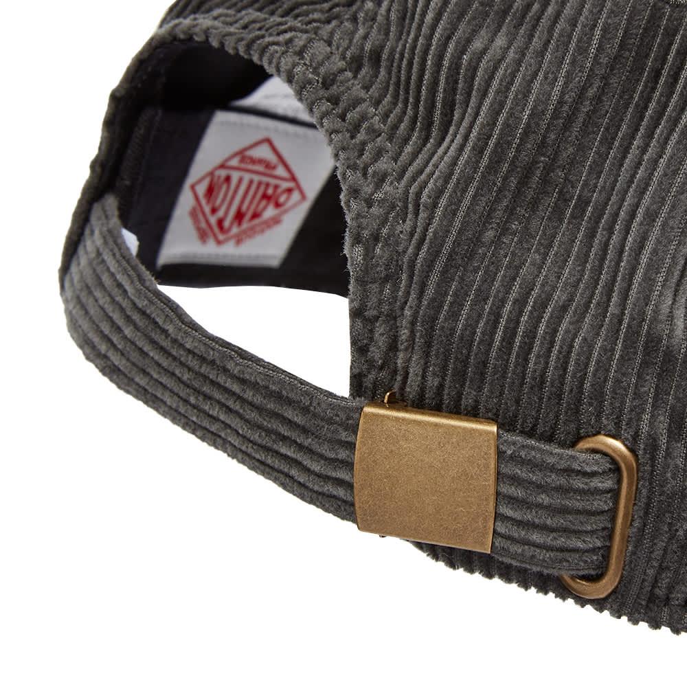 Danton Corduroy Baseball Cap - Charcoal Grey