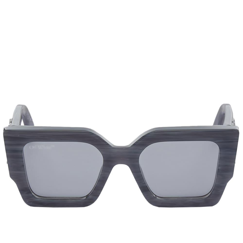 Off-White Catalina Sunglasses - Light Grey