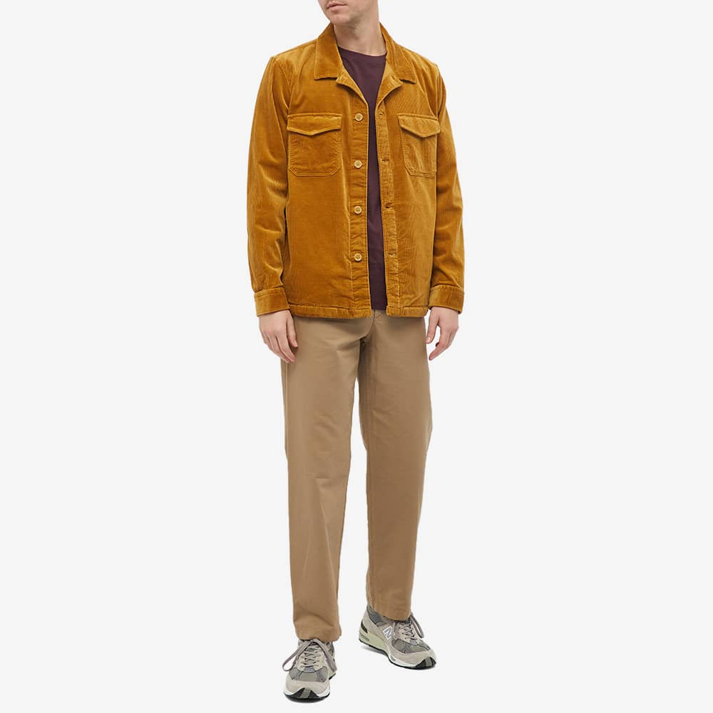 NN07 Bernard Corduroy Shirt Jacket - Camel