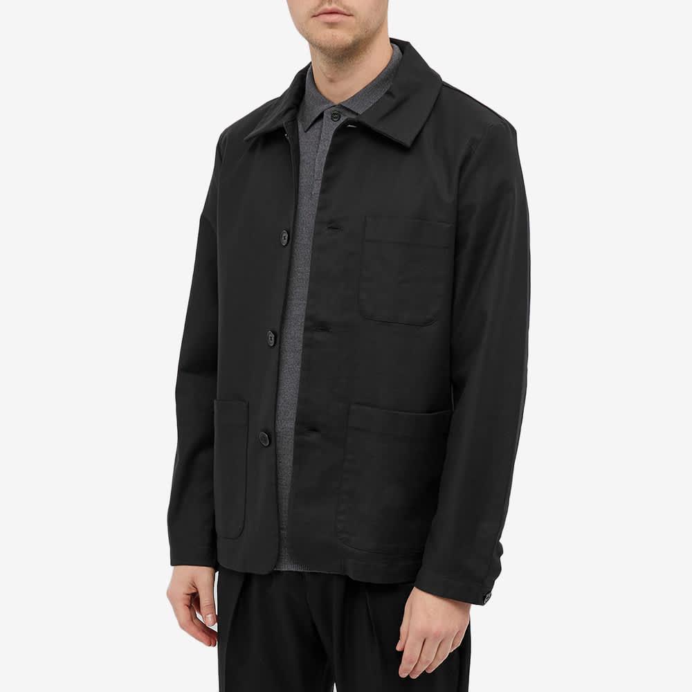 NN07 Ben Chore Jacket - Black