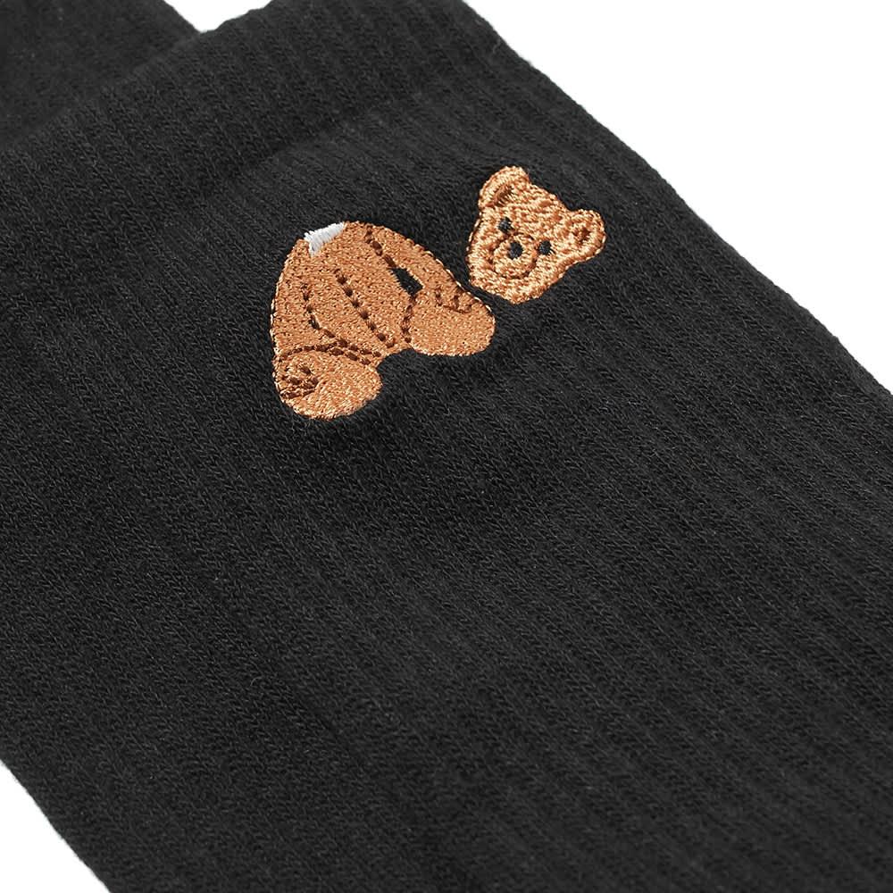 Palm Angels Bear Socks - Black & Brown