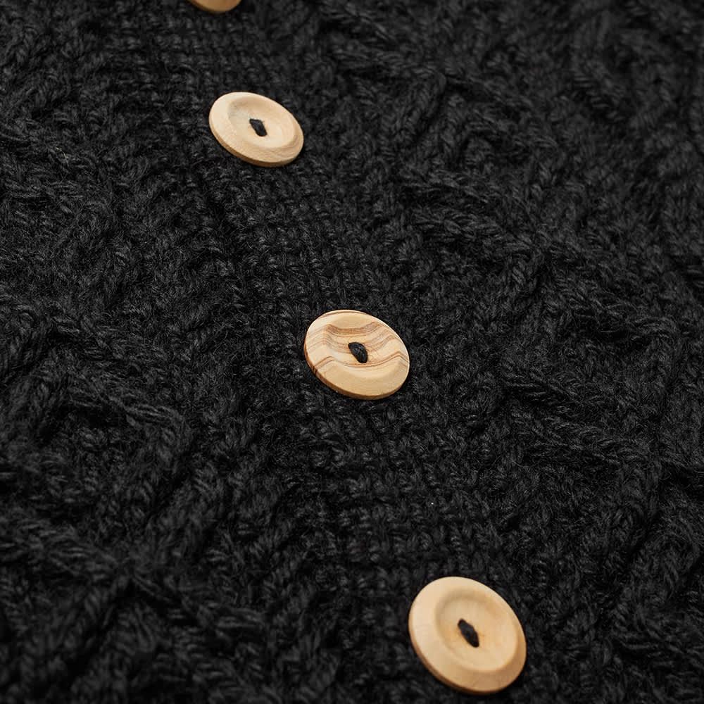 Inverallan 3A Lumber Cardigan - Black