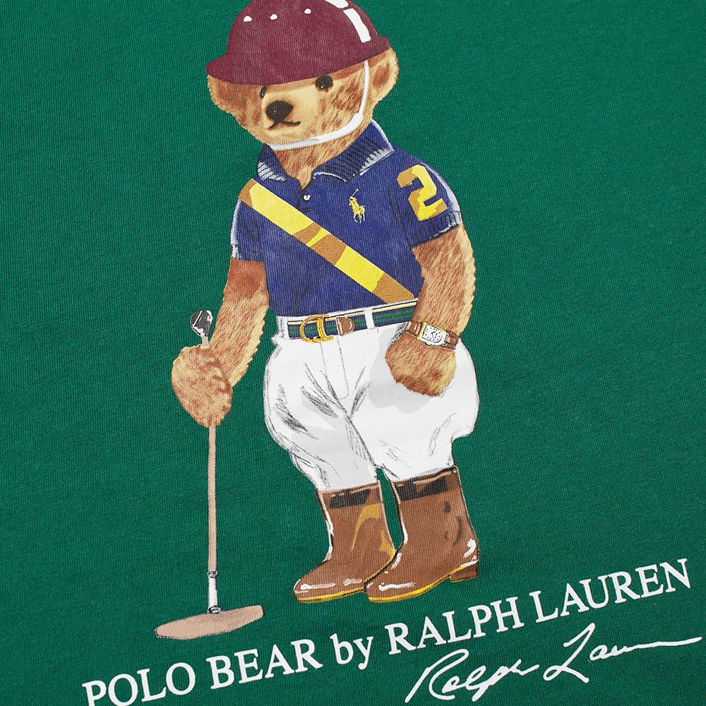 Polo Ralph Lauren Polo Player Bear Tee - New Forest