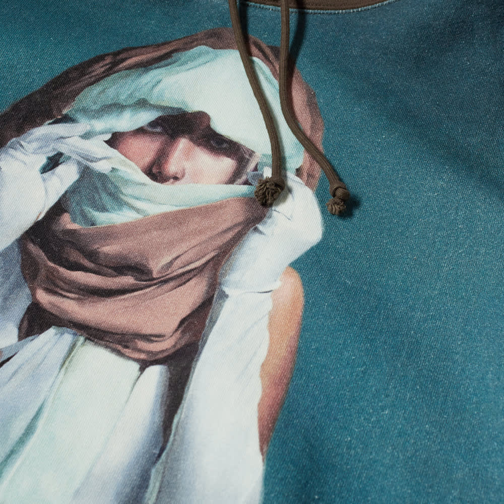Undercover x Markus Ã…keson Child Print Popover Hoody - Dark Brown