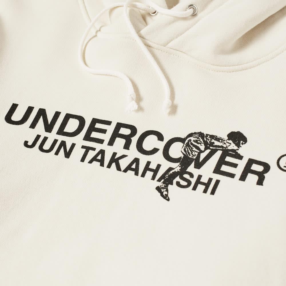Undercover Logo Popover Hoody - Ivory