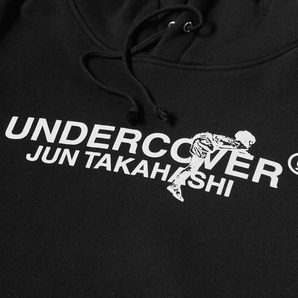 Undercover Logo Popover Hoody - Black
