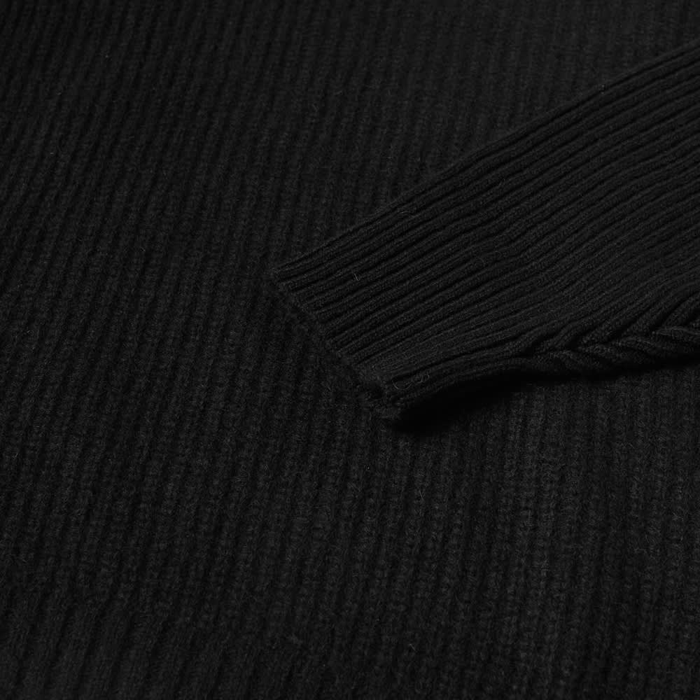 Undercover Rib Crew Knit - Black