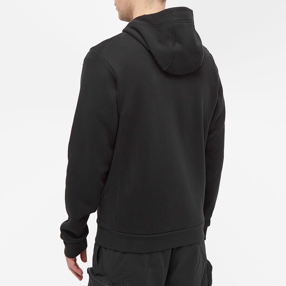 Arc'teryx Bird Emblem Full Zip Hoody - Black