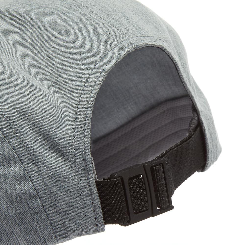 Arc'teryx 5 Panel Label Hat - Grey Heather