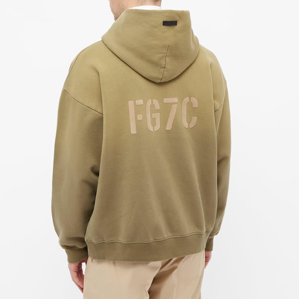 Fear of God Fg7C Hoody - Vintage Army