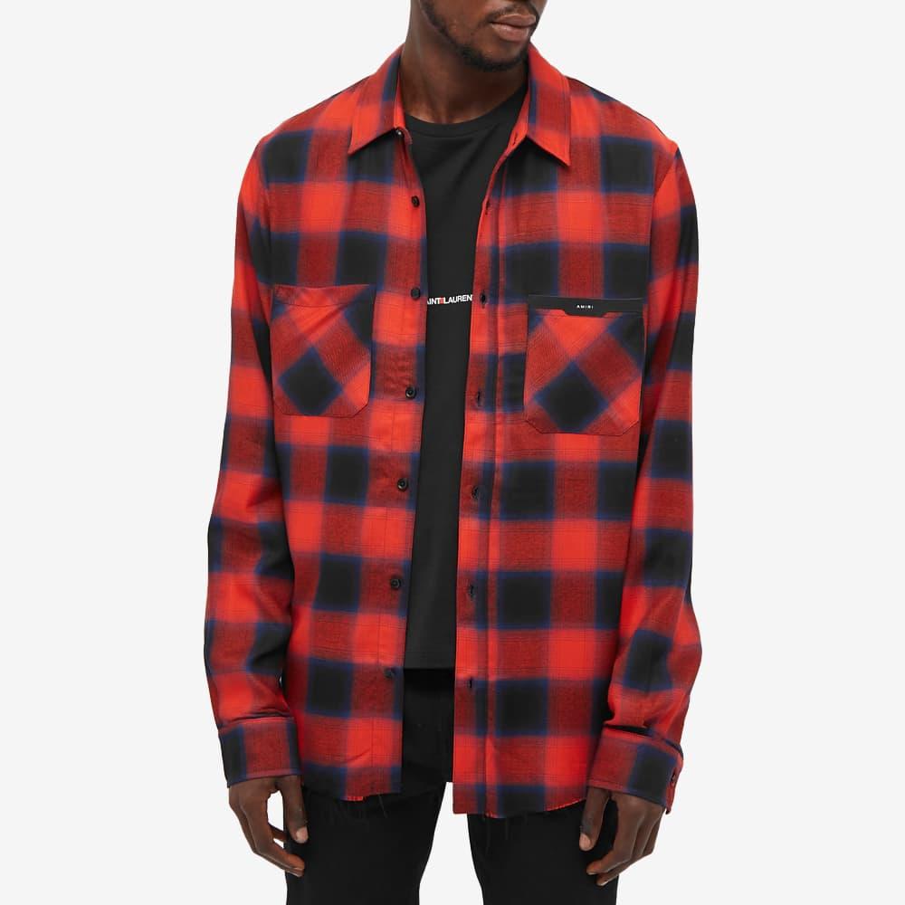 AMIRI Applique Flannel - Red