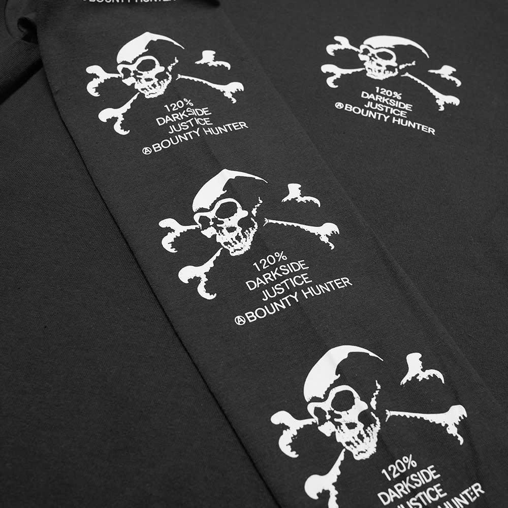 Bounty Hunter Long Sleeve Old Skull Tee - Black