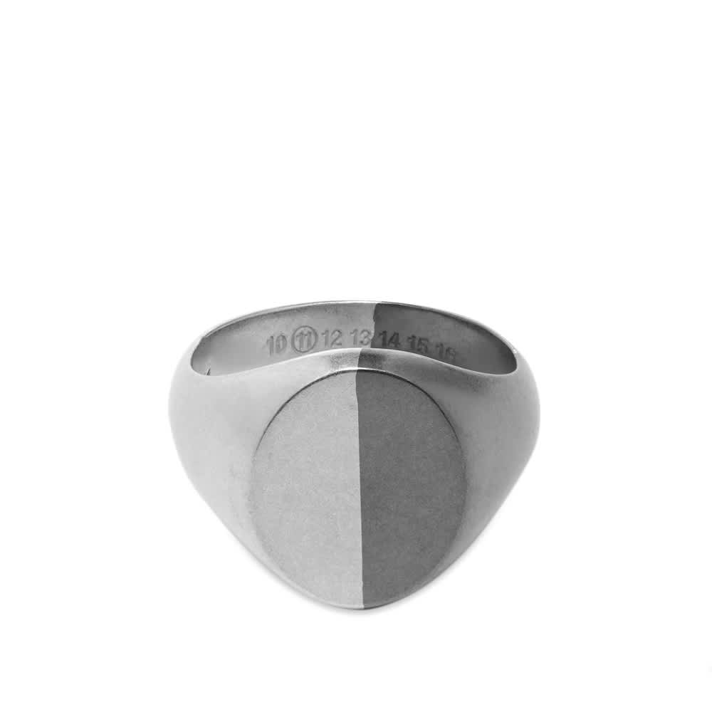 Maison Margiela Bi-Colour Signet Ring