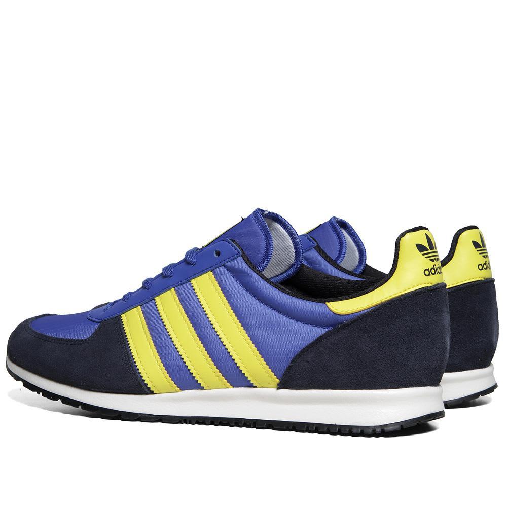 Adidas Adistar Racer  - True Blue, Vivid Yellow & Lege