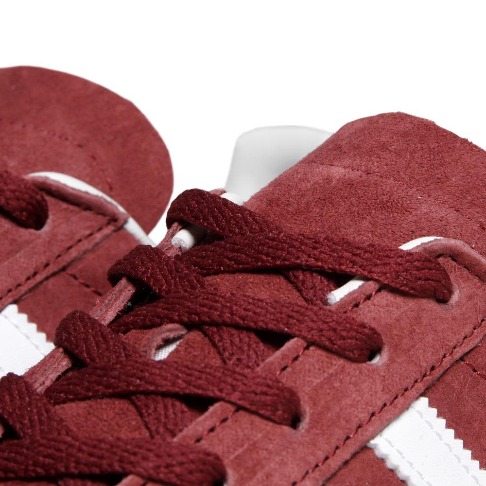 Adidas Campus 80s  - Cardinal & Running White