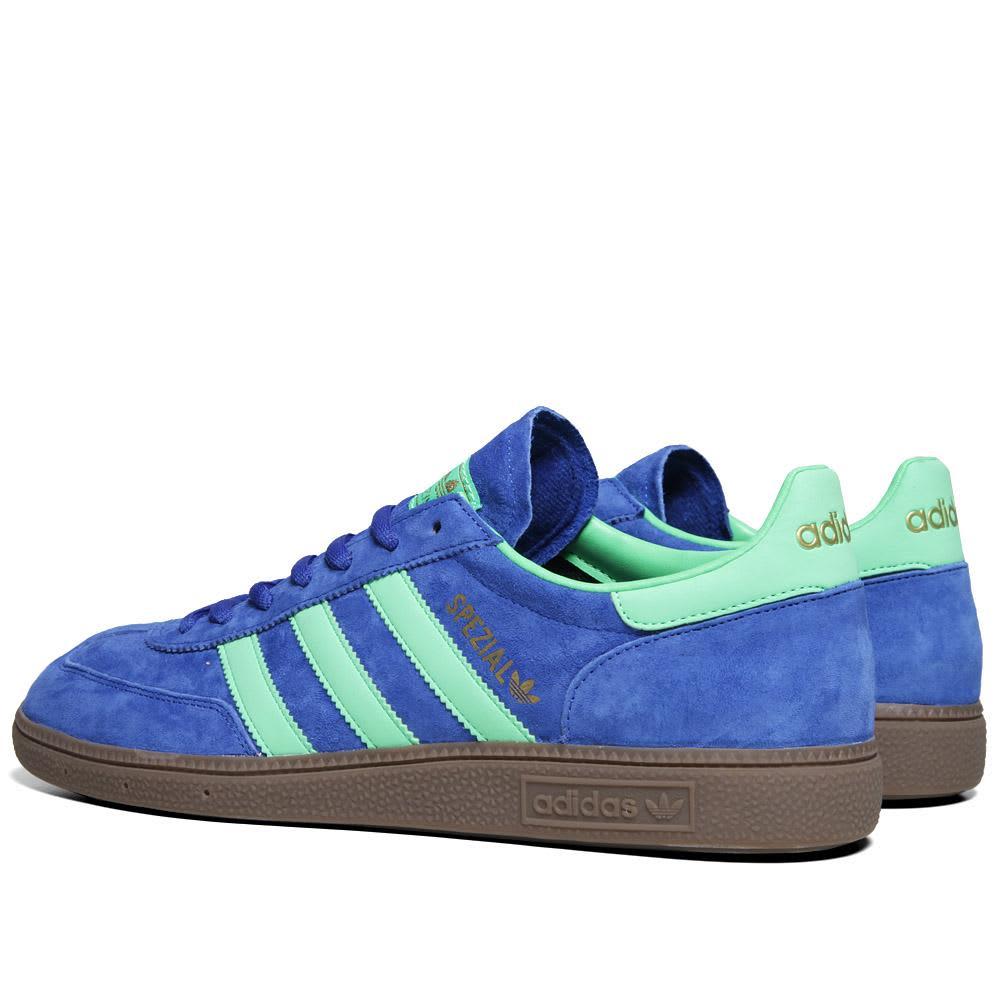 Adidas Spezial - True Blue & Green Zest
