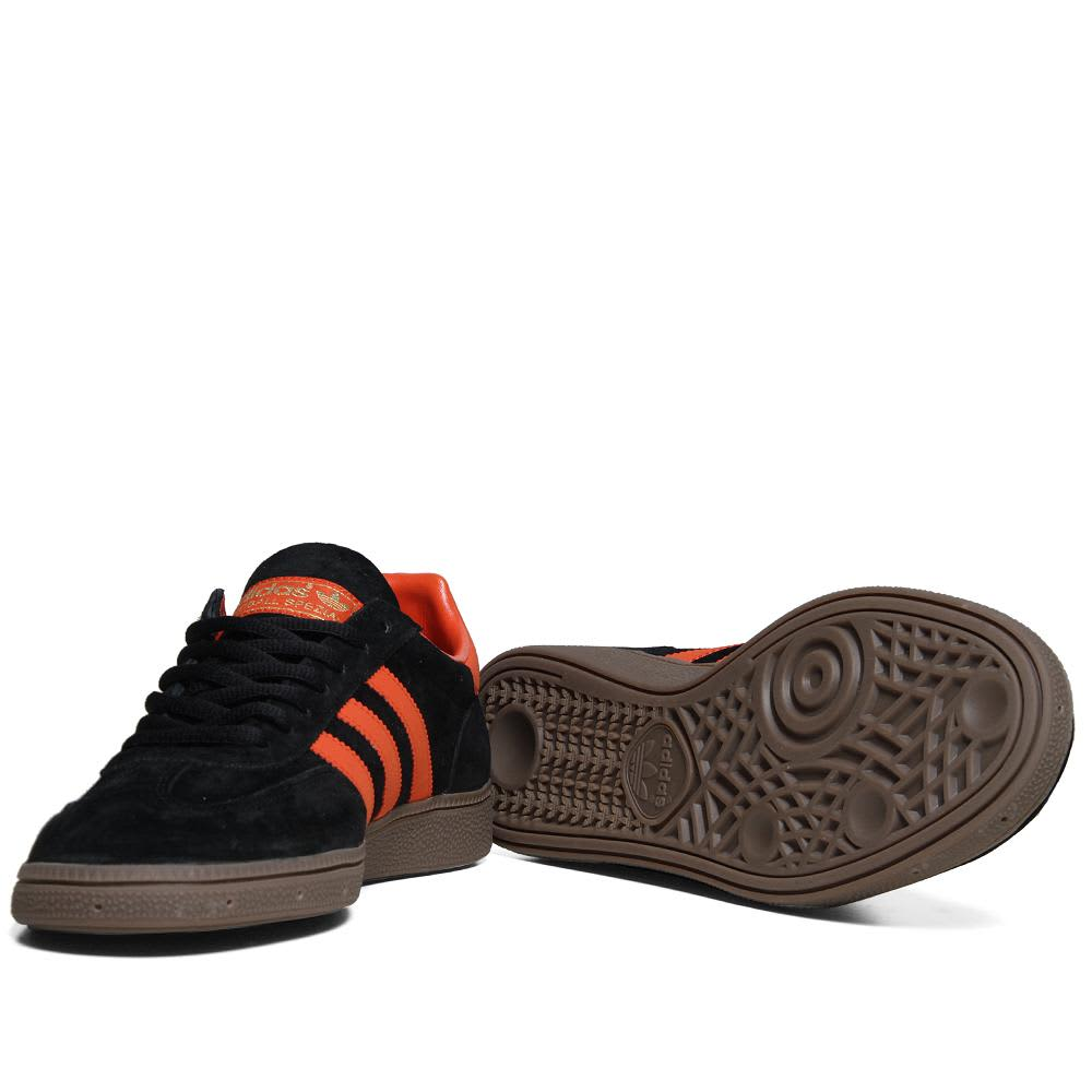 Adidas Spezial - Black & Collegiate Orange
