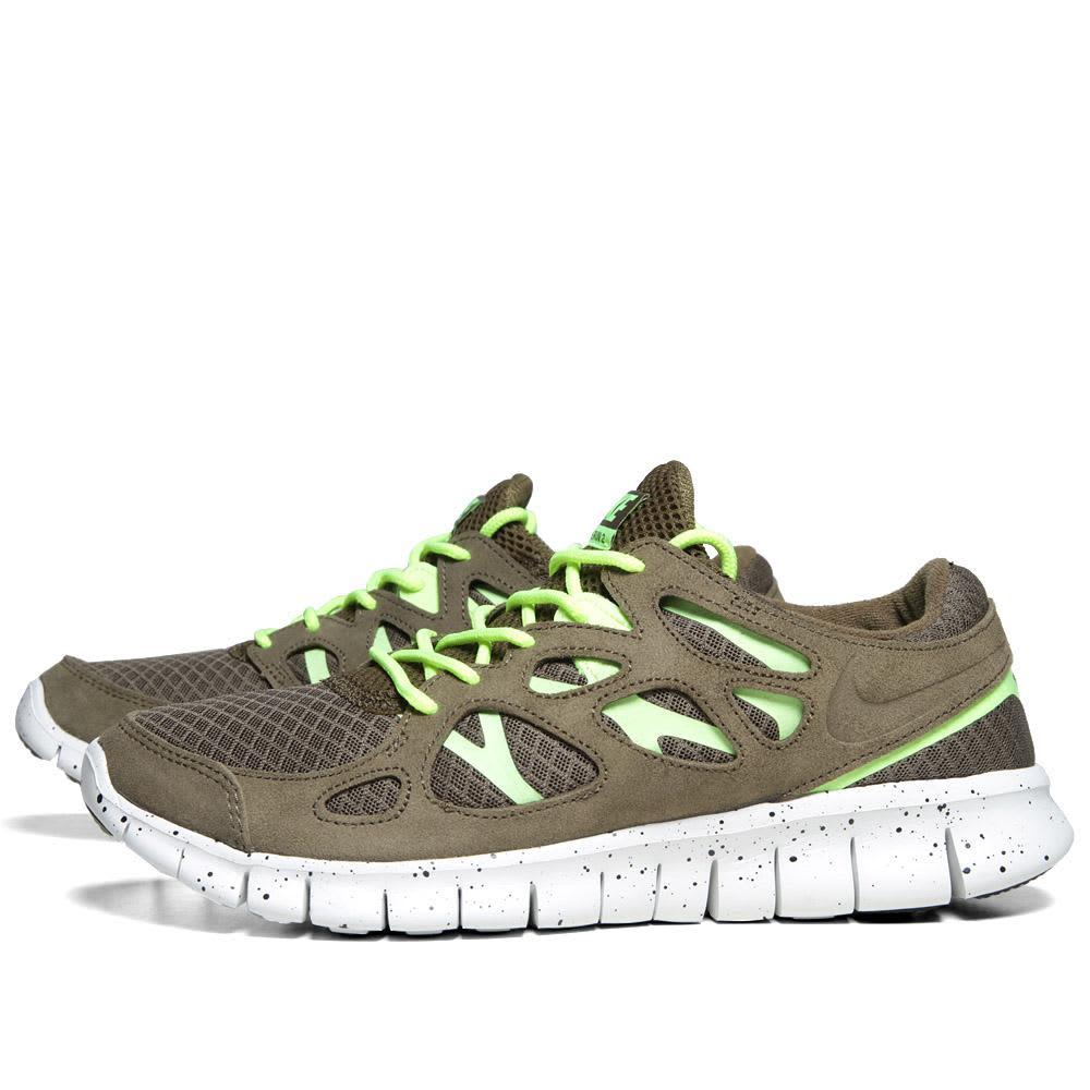 Nike Free Run + 2 EXT  - Squadron Green