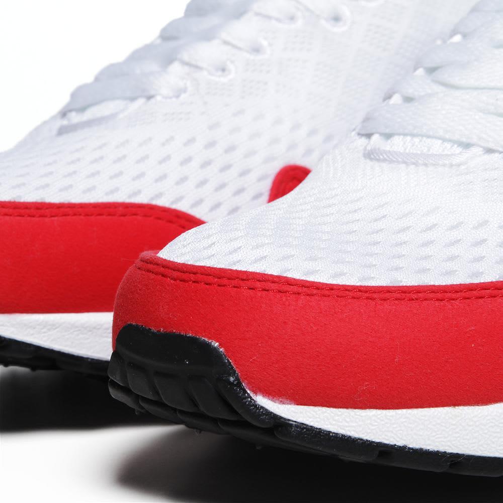 Nike Air Max 1 EM - White & University Red