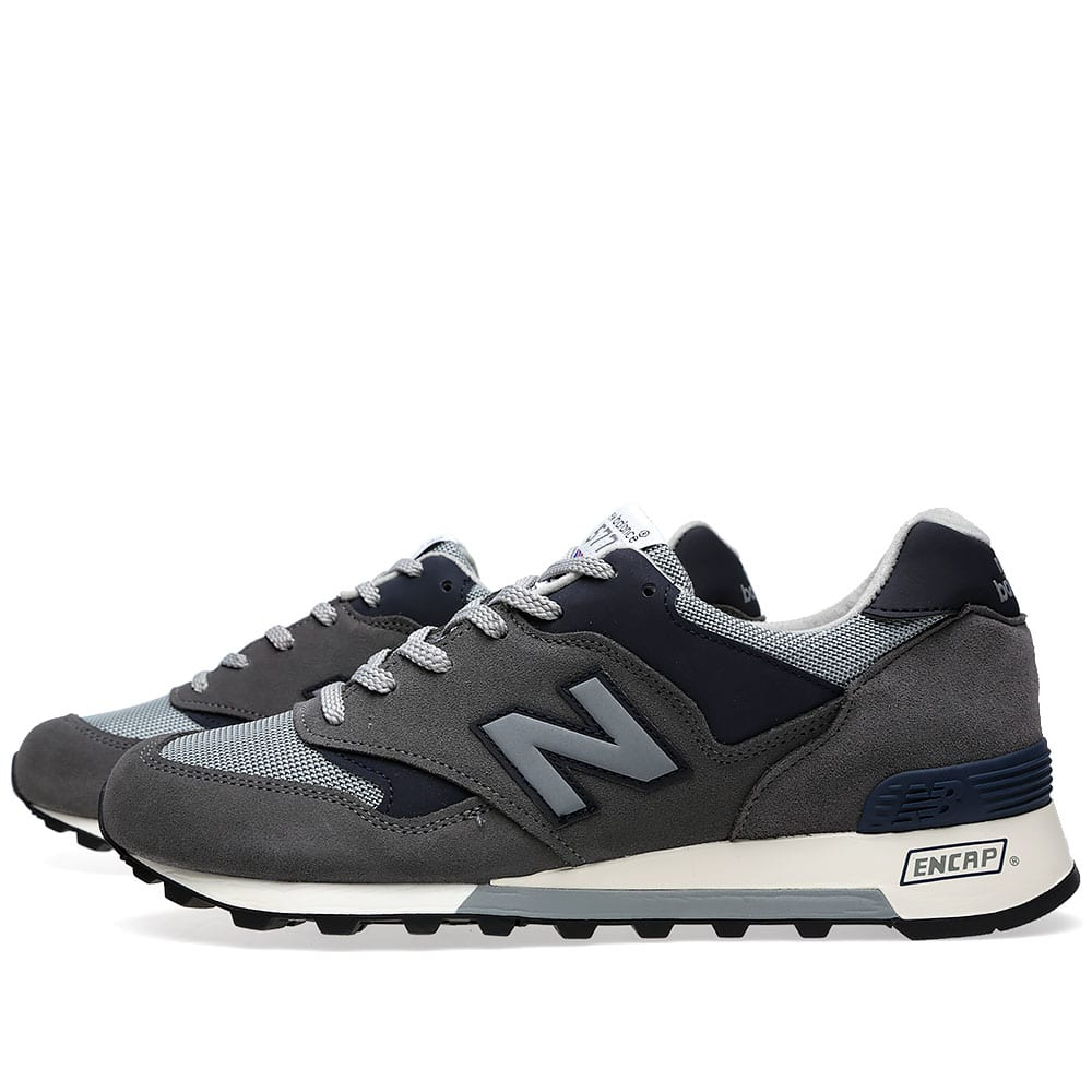 New Balance M577GNA - Made In England - Grey & Navy