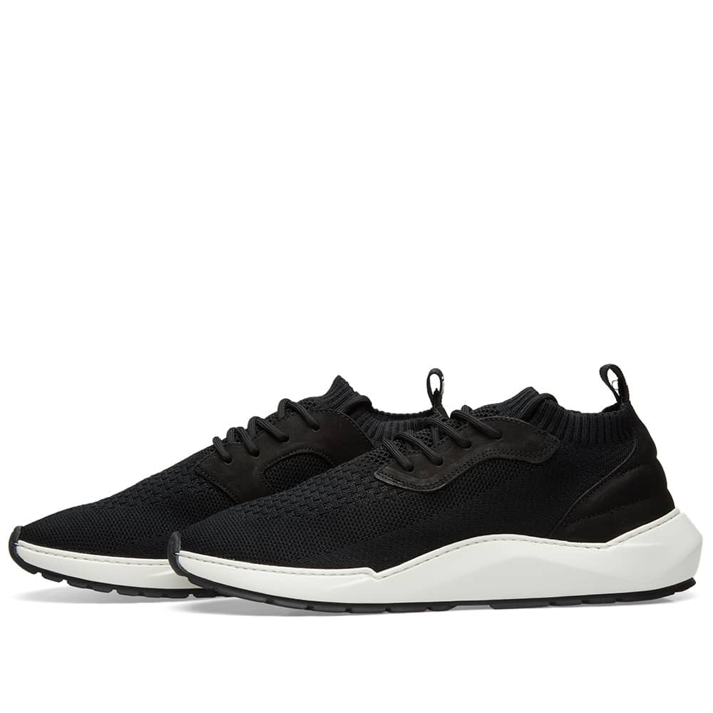 Filling Pieces Speed Arch Runner Sneaker - Knit Black