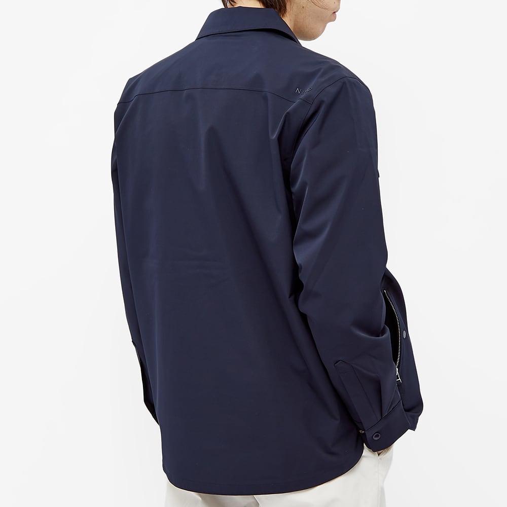 NN07 Timothy Technical Shirt Jacket - Navy Blue