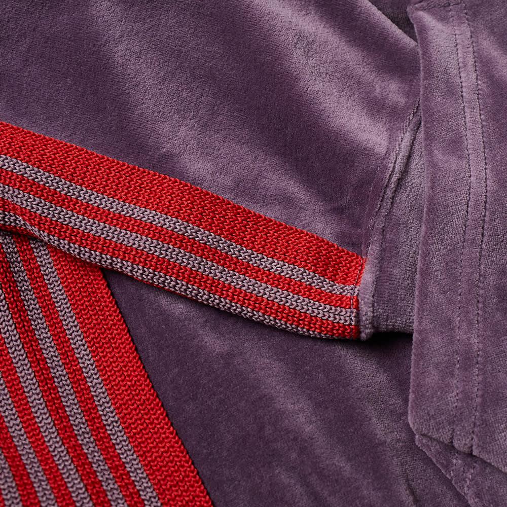 Needles Velour Popover Hoody - Purple