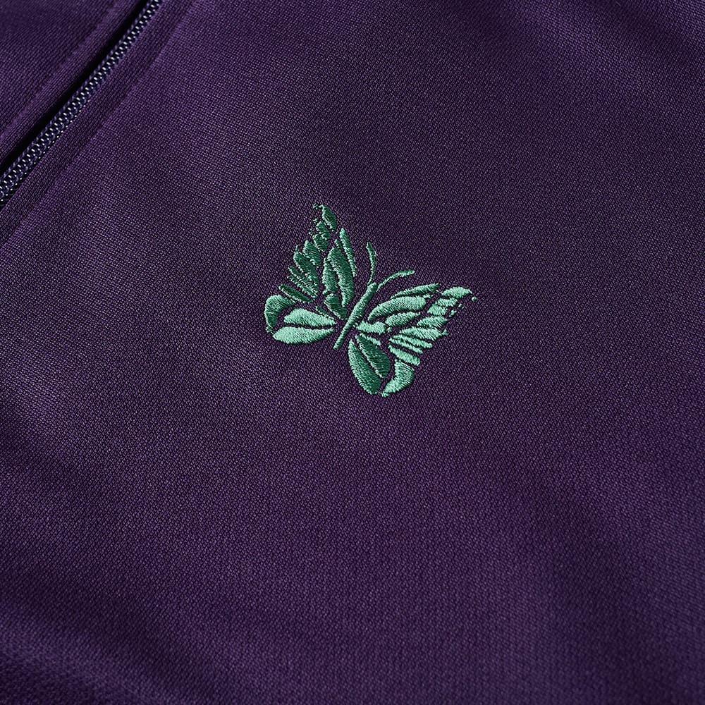 Needles Poly Smooth Track Jacket - Eggplant