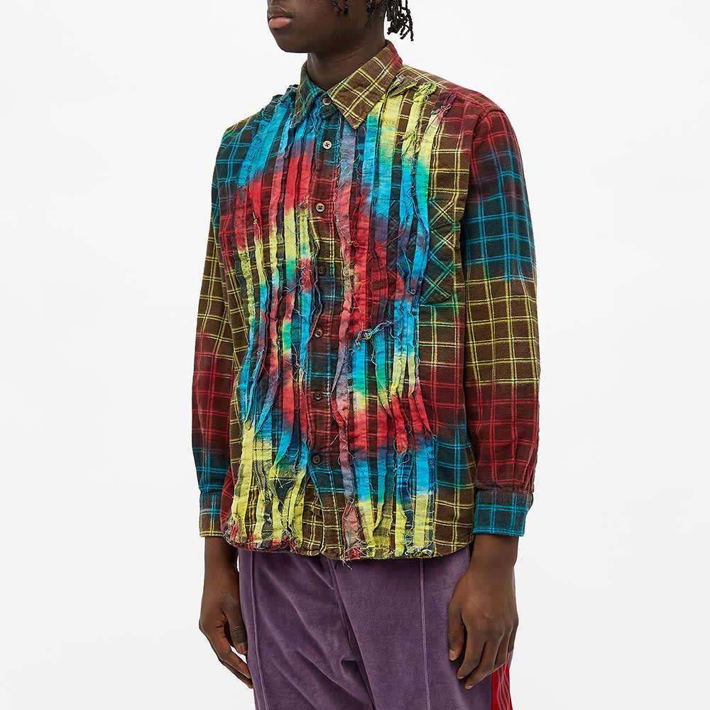 Needles 7 Cuts Tie Dye Flannel Shirt - Assorted