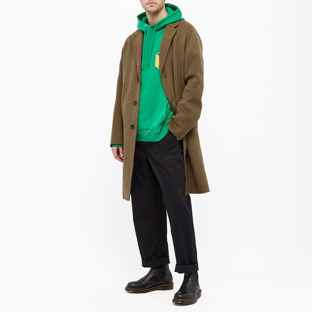YMC Trugoy Popover Hoody - Green