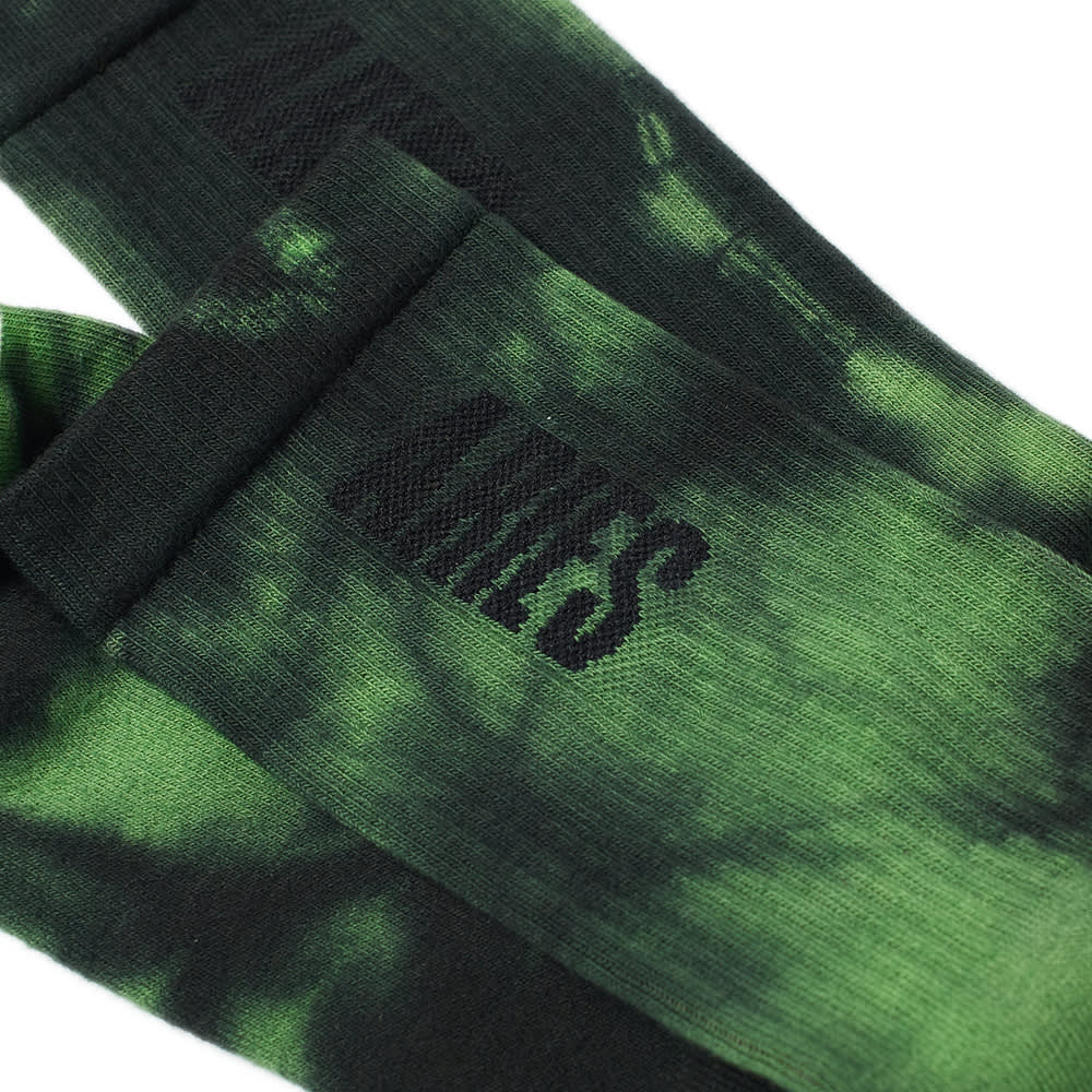 Aries Tie-Dye Sock - Green