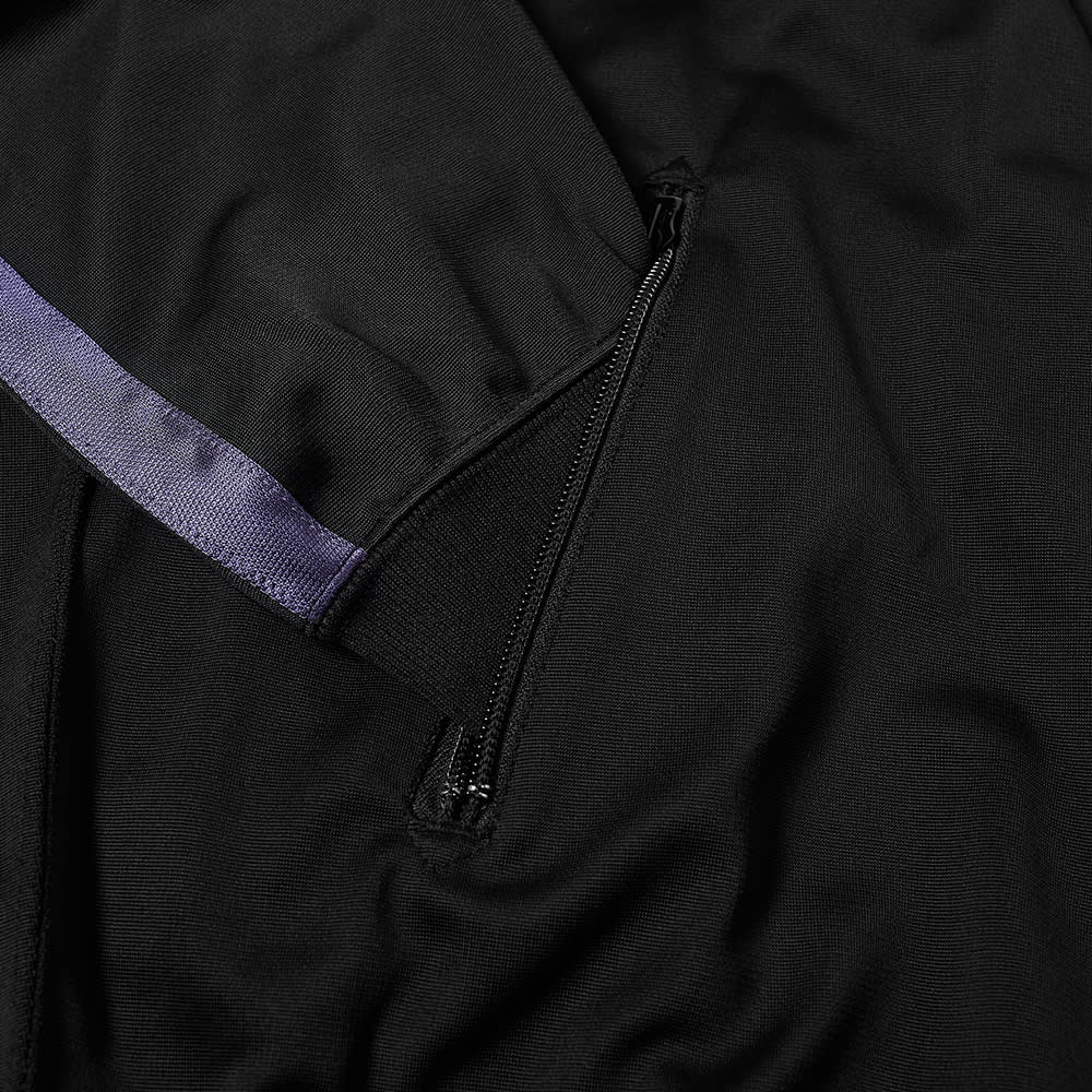 Needles Ribbed Collar Jersey Jacket - Black