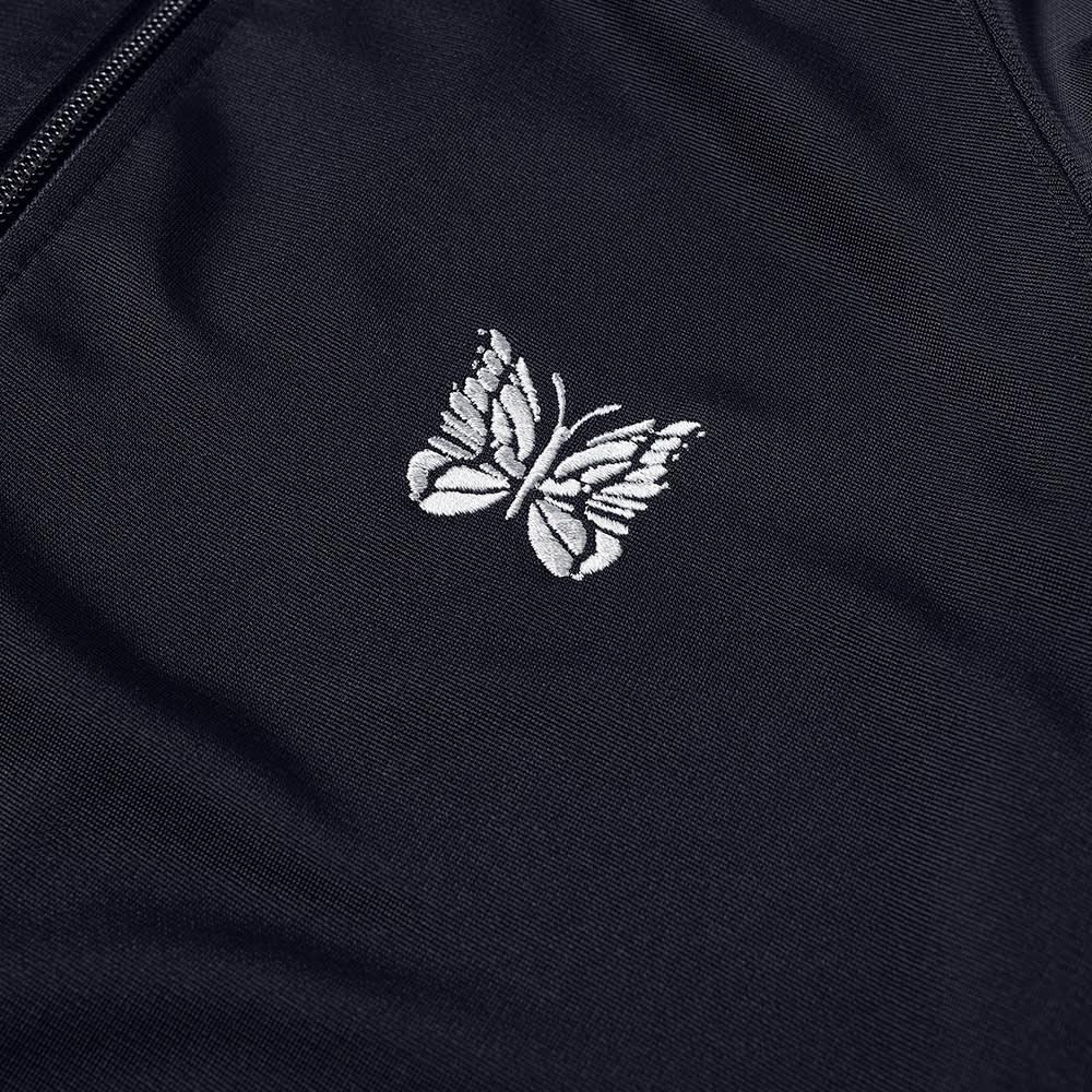 Needles Ribbed Collar Jersey Jacket - Navy
