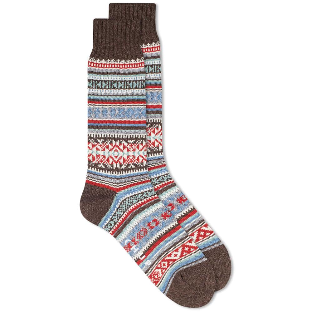 Chup Inkle Sock - Chocolate