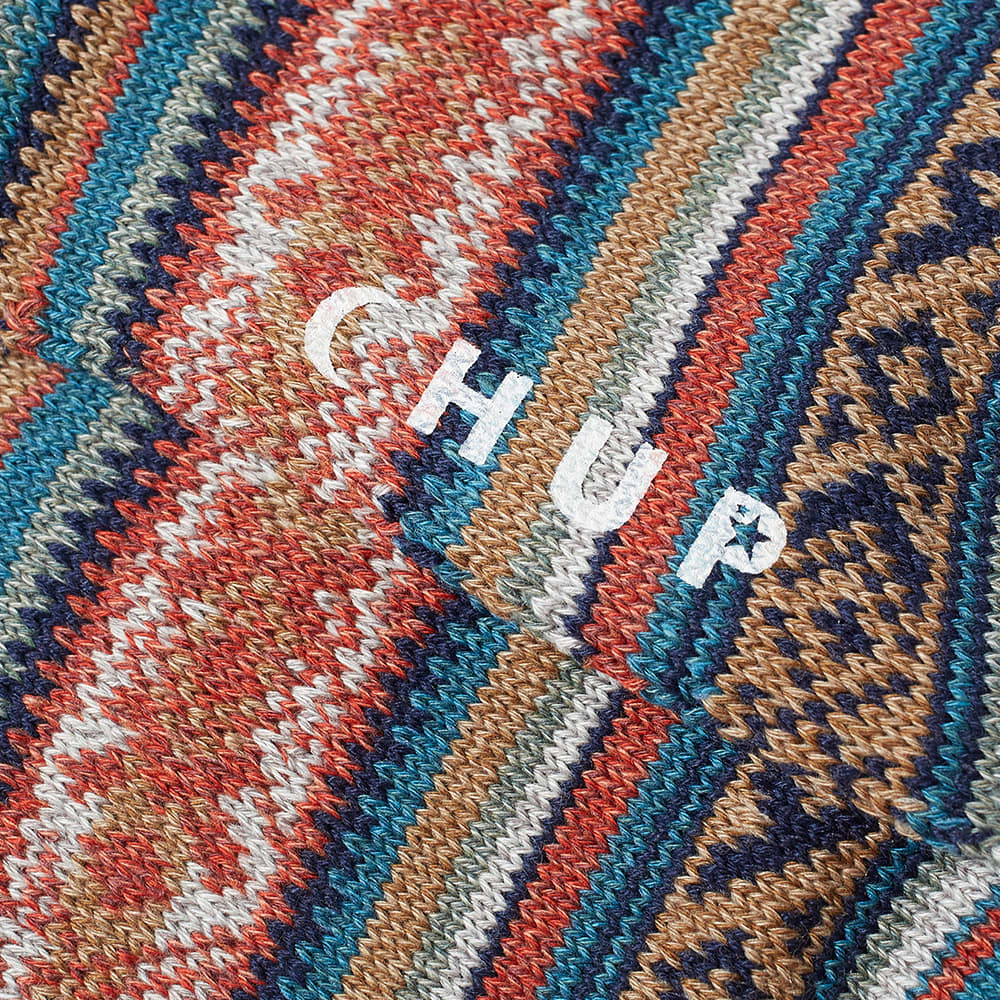 Chup Inkle Sock - Turkish Blue