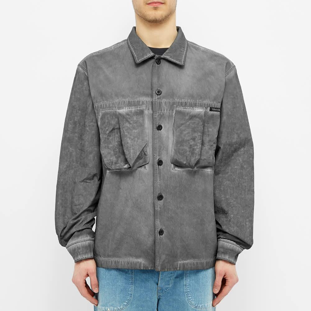 Liberaiders Psychedelic BDU Shirt - Black