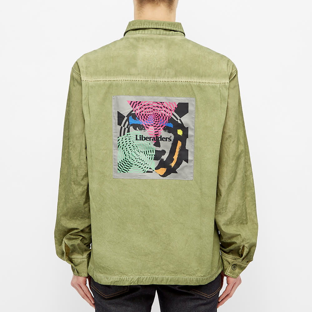 Liberaiders Psychedelic BDU Shirt - Olive