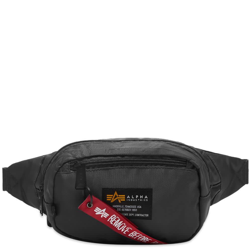Alpha Industries Crew Waist Bag - Black
