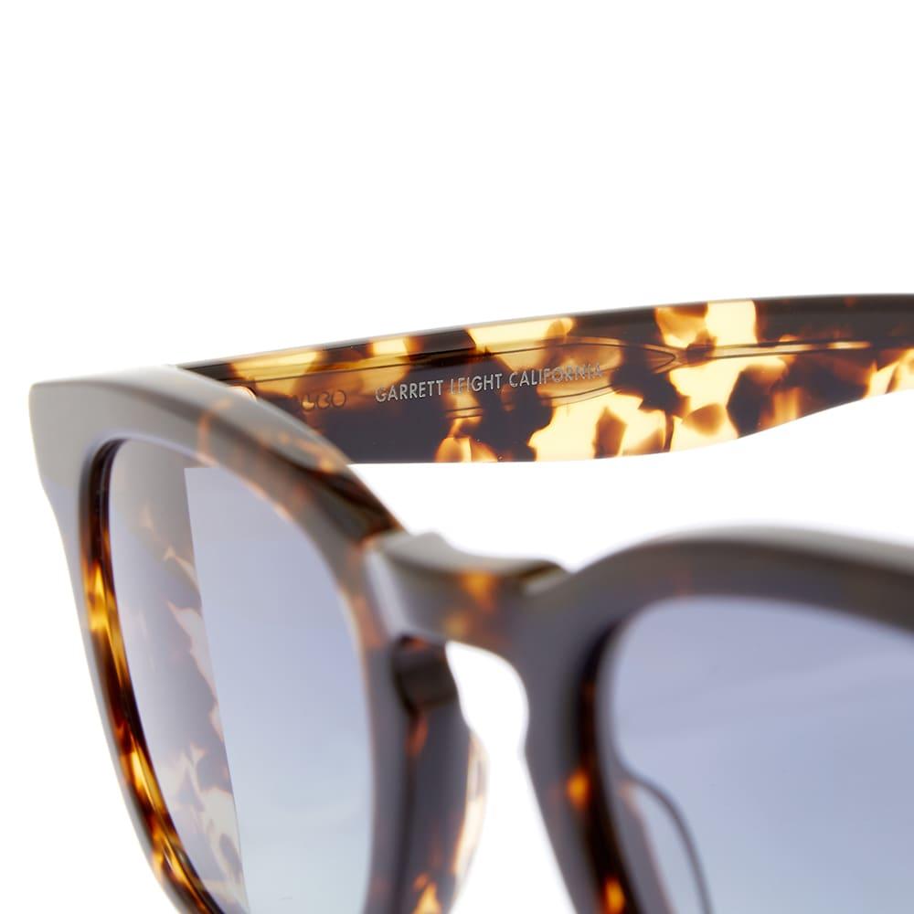 Garrett Leight Kinney 48 Sunglasses - Tuscan Tortoise & Pool