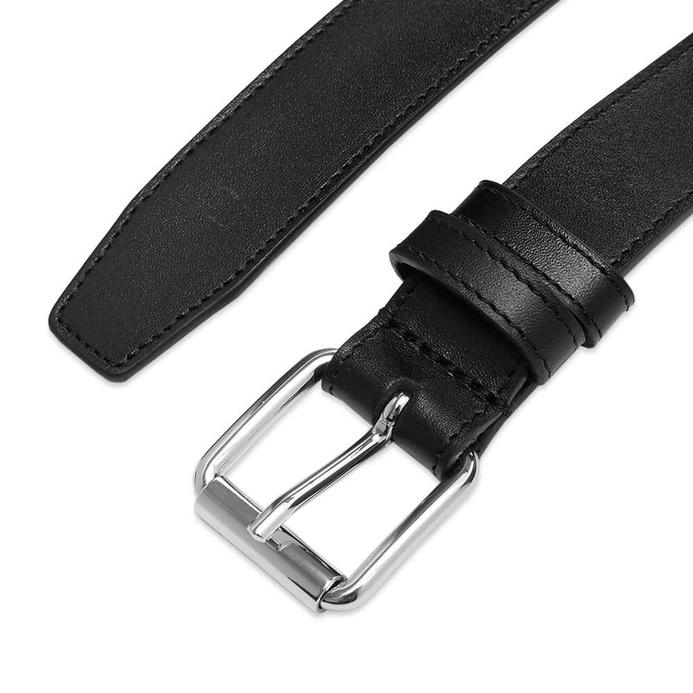 Comme des Garcons Classic Leather Belt - Black