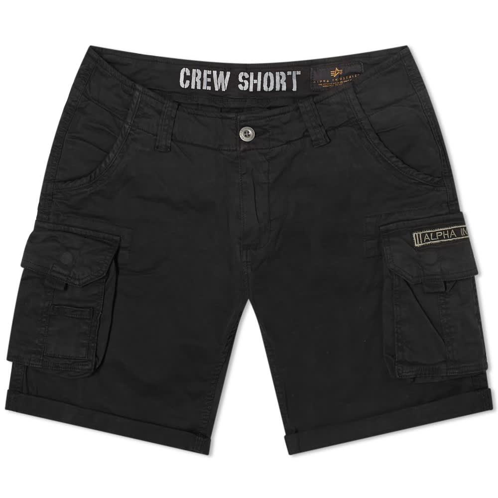 Alpha Industries Crew Short - Black