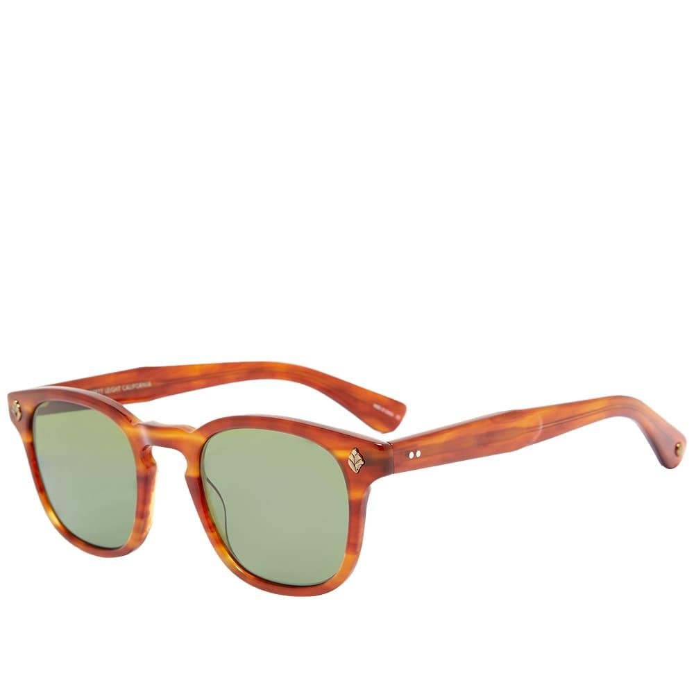 Garrett Leight Ace Sunglasses - Honey Amber Tortoise