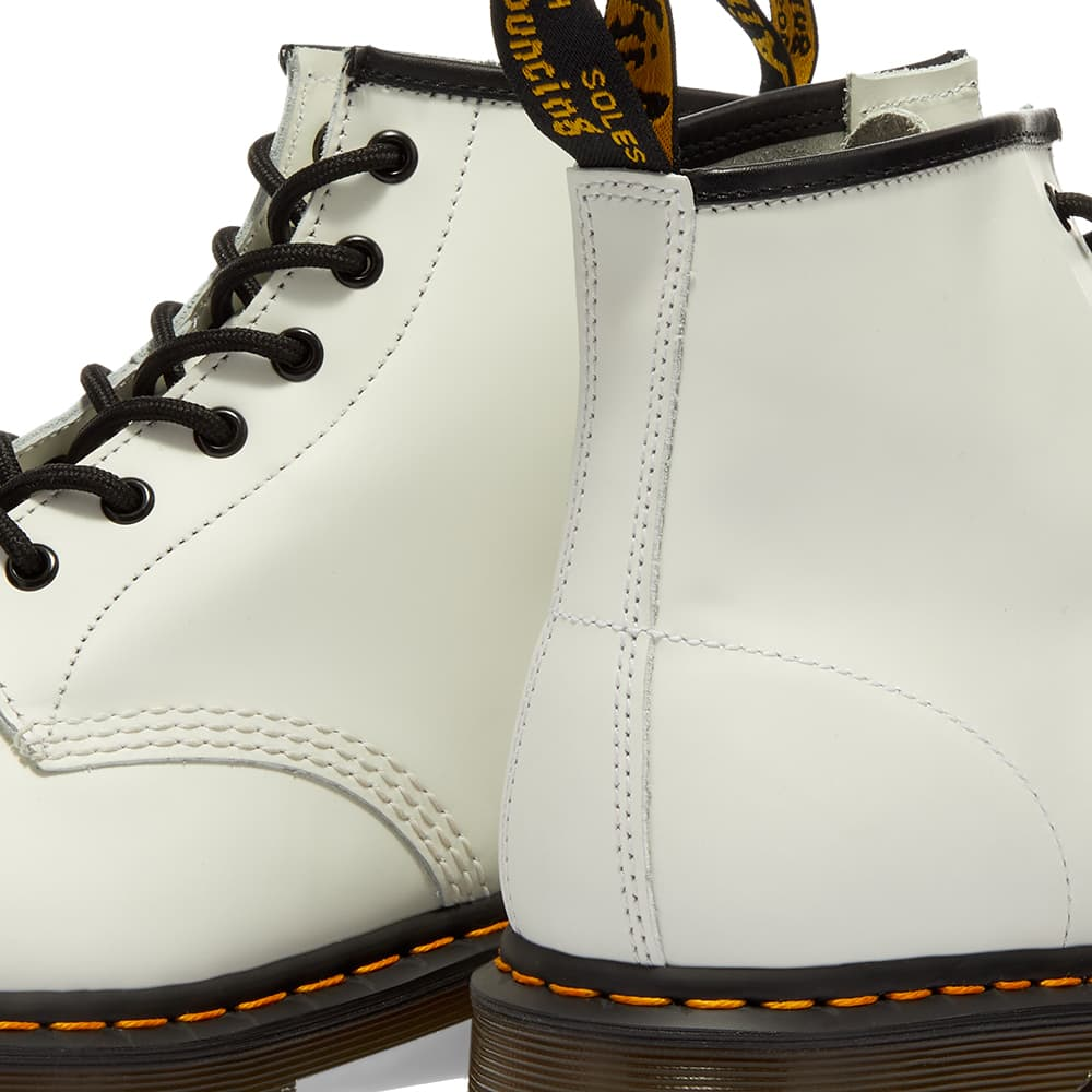 Dr. Martens 101 Boot - White Smooth
