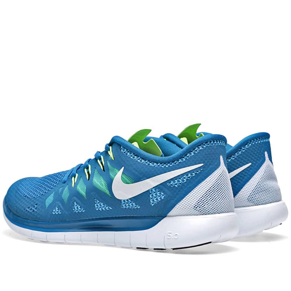 Nike Free 5.0 Military Blue \u0026 Mid Navy